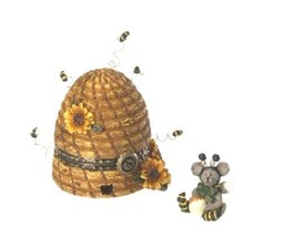 "Boyds Treasure Box ""Bumble Beeskep w/Buzz Mcnibble"" #4026246- NIB- Retired - $39.99"