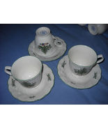Nikko Happy holidays cups/saucers  (10 sets  av... - $19.99