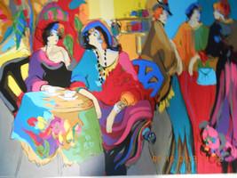 Cafe de Lion by Isaac Maimon - $1,450.00