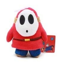 Nintendo Super Mario Brothers Shy Guy 5 Inch Tall Plush Brand NEW! - $17.50