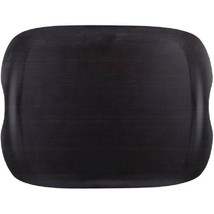Roltex Earth Tray Dark Wood Large Commercial Ca... - $35.82