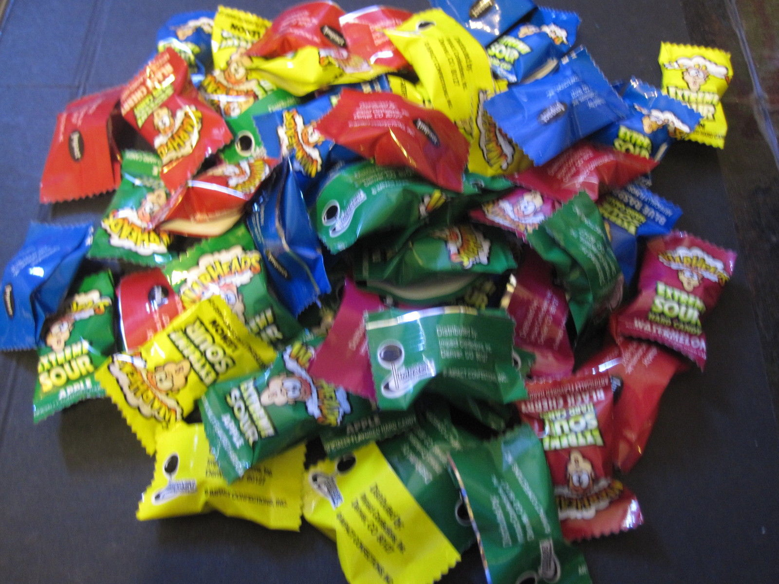 Warheads Extreme Sour Hard Candy 50 Pieces