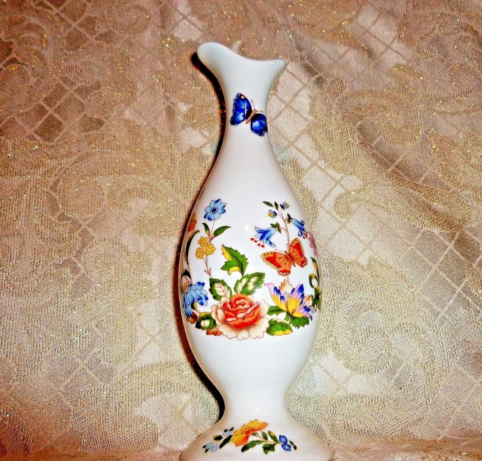 Primary image for Aynsley Made in England Fine Bone China Cottage Garden Vase