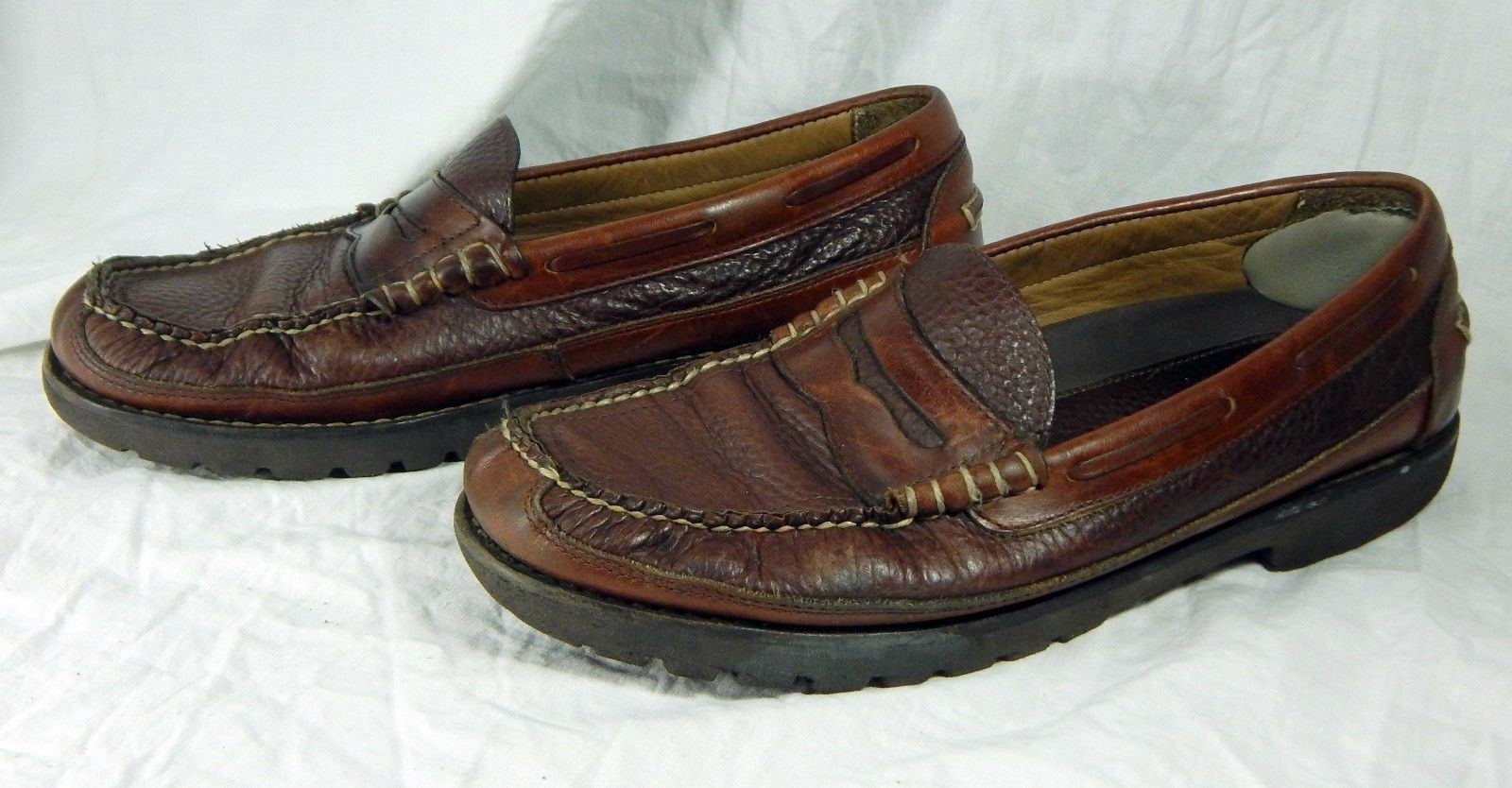 3541ce9b788 Vintage L.L. Bean Slip On Loafer Leather and 50 similar items. S l1600