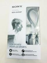Sony MDR-AS410AP Sport In-Ear Headphones Black - £5.00 GBP