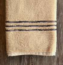 Missoni Astra Hand Towel, color 19 Linen with embroidered stripes - $23.00