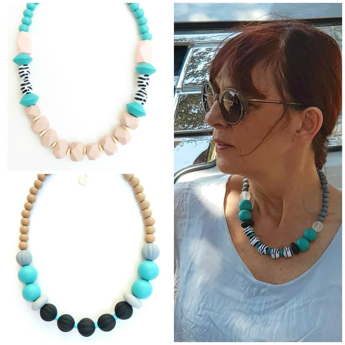 Handmade turquoise leopard beaded short necklace women fashion short necklace