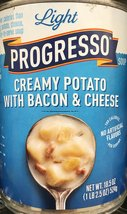 Progresso Light Creamy Potato with Bacon & Cheese Soup 18.5oz Can (Pack ... - $32.99