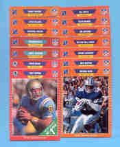 1989 Pro Set Dallas Cowboys Football Set - $8.00