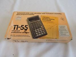 Texas Instruments TI-55 Scientific Calculator w... - $20.00