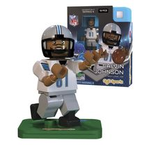 Calvin Megatron Johnson Detroit Lions mini figure Oyo Sports NIB NFL 13 pcs - $19.99