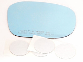 Right Passenger Convex Blue Mirror Glass Lens w/Adhesive Fits 97-03 Inf QX4 - $28.95