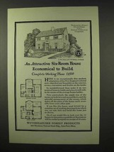 1926 Weyerhaeuser Forest Products Ad - Cleary, Holden - $14.99