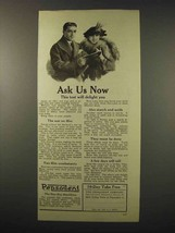 1922 Pepsodent Toothpaste Ad - Ask Us Now - $14.99