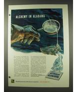 1948 Reynolds Aluminum Ad - Alchemy in Alabama - $14.99
