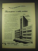 1948 Libbey Owens Ford Thermopane Glass Ad - Available - $14.99