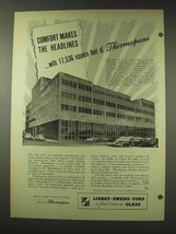 1948 Libbey Owens Ford Thermopane Glass Ad - Comfort - $14.99