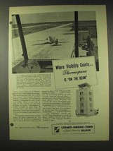 1948 Libbey Owens Ford Thermopane Glass Ad - Visibility - $14.99