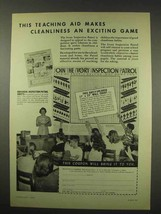 1949 Ivory Soap Ad - Cleanliness an Exciting Game - $14.99