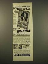 1949 Casco Tool 'n' rak, Vis-o-lite Ad - Greatest Idea - $14.99