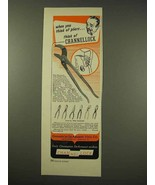 1949 Channellock Pliers Ad - When you Think of Pliers - $14.99