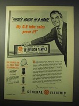 1950 General Electric Tubes Ad - There's Magic in Name - $14.99