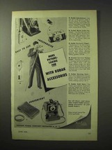 1950 Kodak Accessories Ad - More Picture-Taking Fun - $14.99