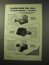 1950 Kodak Kodaslide Projector 2A, 1A, Master Ad - $14.99