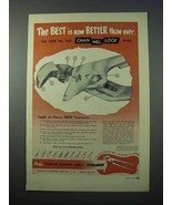 1953 Channellock No. 420 Plier Tool Ad - Best is Better - $14.99