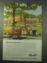 1951 Budd Company Ad - Better Schools - $14.99