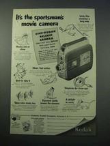 1953 Cine-Kodak Reliant Camera Ad - Sportsman's Movie - $14.99