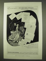 1954 Crane's Fine Papers Ad - For Your Paper Trousseau - $14.99