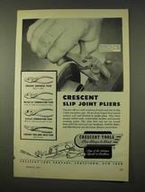 1954 Crescent Tools Plier Ad - Universal, CeeTeeCo + - $14.99