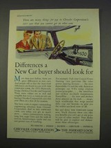 1955 Chrysler Corporation Ad - Should Look For - $14.99
