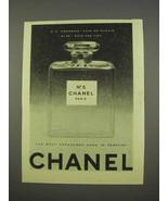 1955 Chanel No. 5 Perfume Ad - Most Treasured Name - $14.99