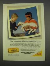 1955 Kodak Kodacolor Film Ad - Take Color Snapshots - $14.99