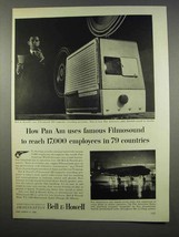 1956 Bell & Howell Filmosound 302 Projector Ad - $14.99