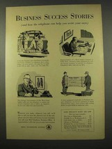 1956 Bell Telephone Ad - Business Success Stories - $14.99