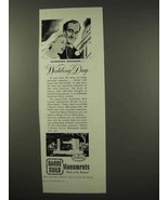 1956 Barre Guild Monuments Ad - Wedding Day - $14.99