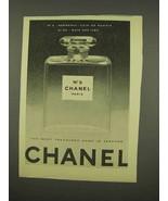 1956 Chanel No. 5 Perfume Ad - $14.99