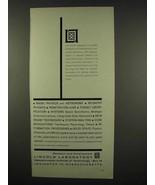 1962 Lincoln Laboratory MIT Ad - Radio Physics - $14.99