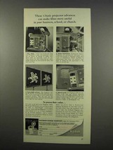 1956 Kodak Kodascope Pageant Projector Ad - Advances - $14.99