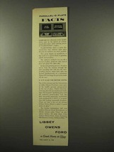 1956 Libbey Owens Ford Glass Ad - Parallel-O-Plate - $14.99
