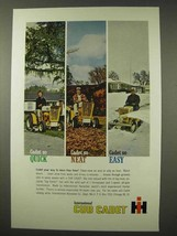 1963 International Harvester Cub Cadet Tractor Ad - $14.99