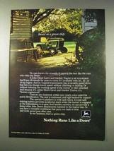 1977 John Deere 212 Lawn and Garden Tractor Ad - $14.99
