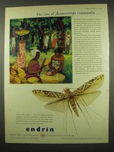 1956 Shell Endrin Ad - Case of Acrocercrops Cramerella - $14.99