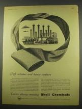 1956 Shell Terylene Ad - High Octanes Haute Couture - $14.99