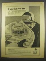 1956 Simoniz Wax for Cars Ad - If You Love Your Car - $14.99