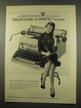 1956 Smith-Corona 88 Typewriter Ad - Response-o-Matic - $14.99