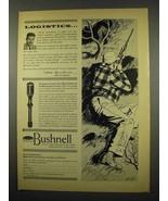 1957 Bushnell ScopeChief Rifle Scope Ad - Logistics - $14.99